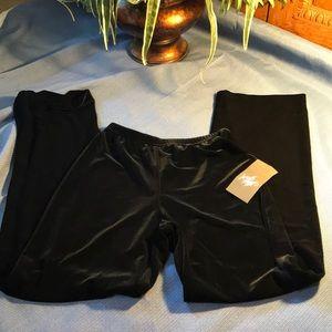 Xscape Pants - NWT Xscape Black Velour Pants